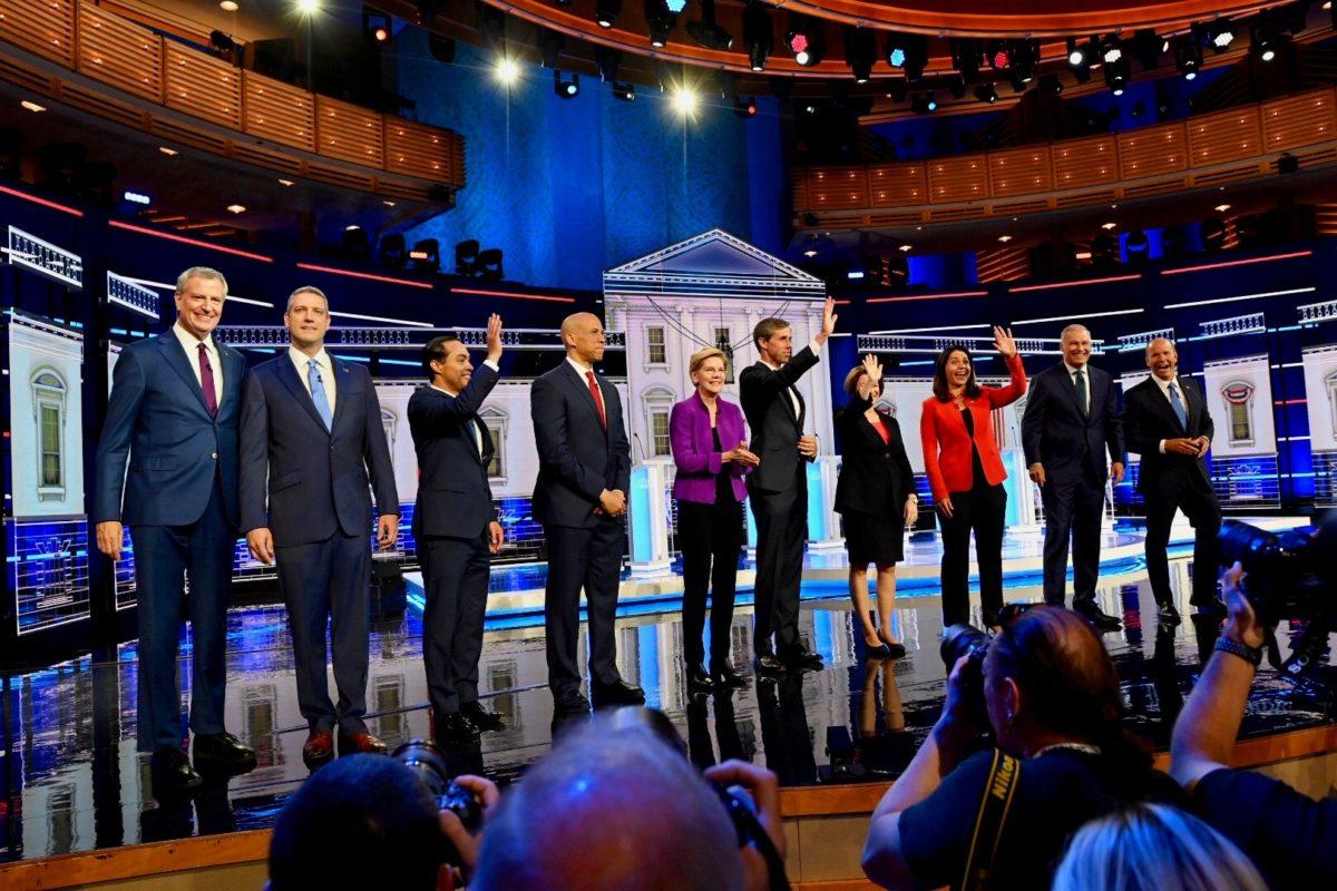candidates democratic debate night one miami 2020