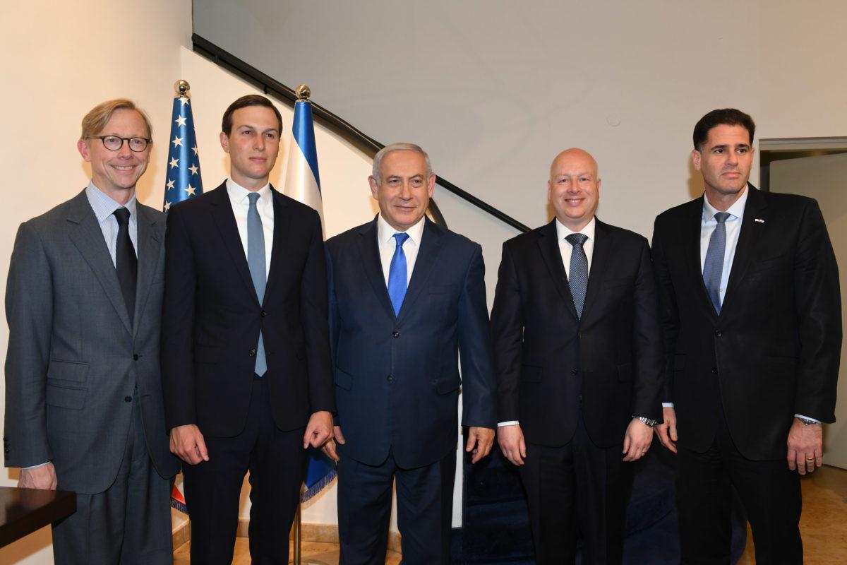 Ron Dermer photo with Netanyahu