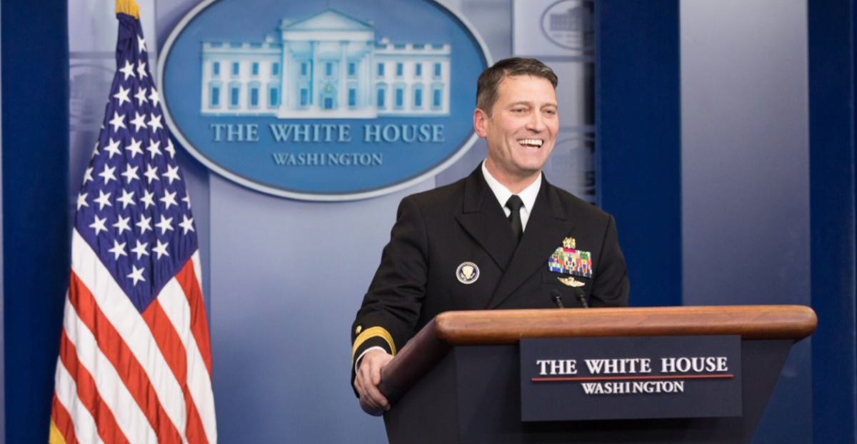 Ronny Jackson white house briefing