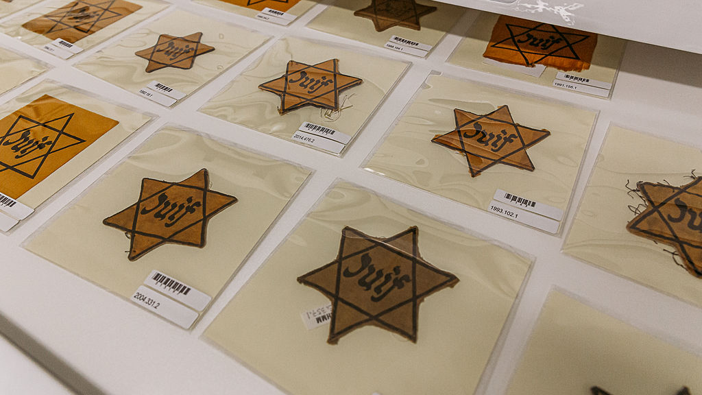 Holocaust artifacts jewish stars