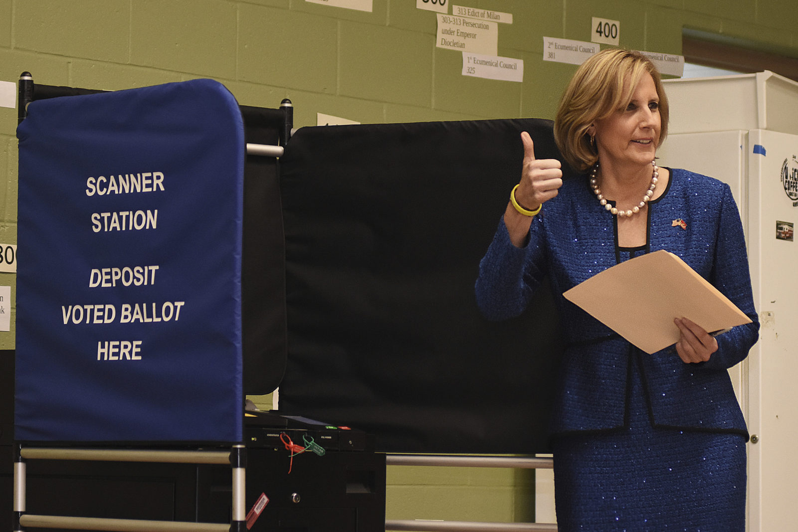 Claudia Tenney voting