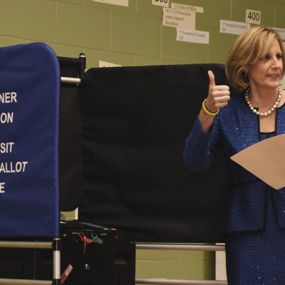 Claudia Tenney voting
