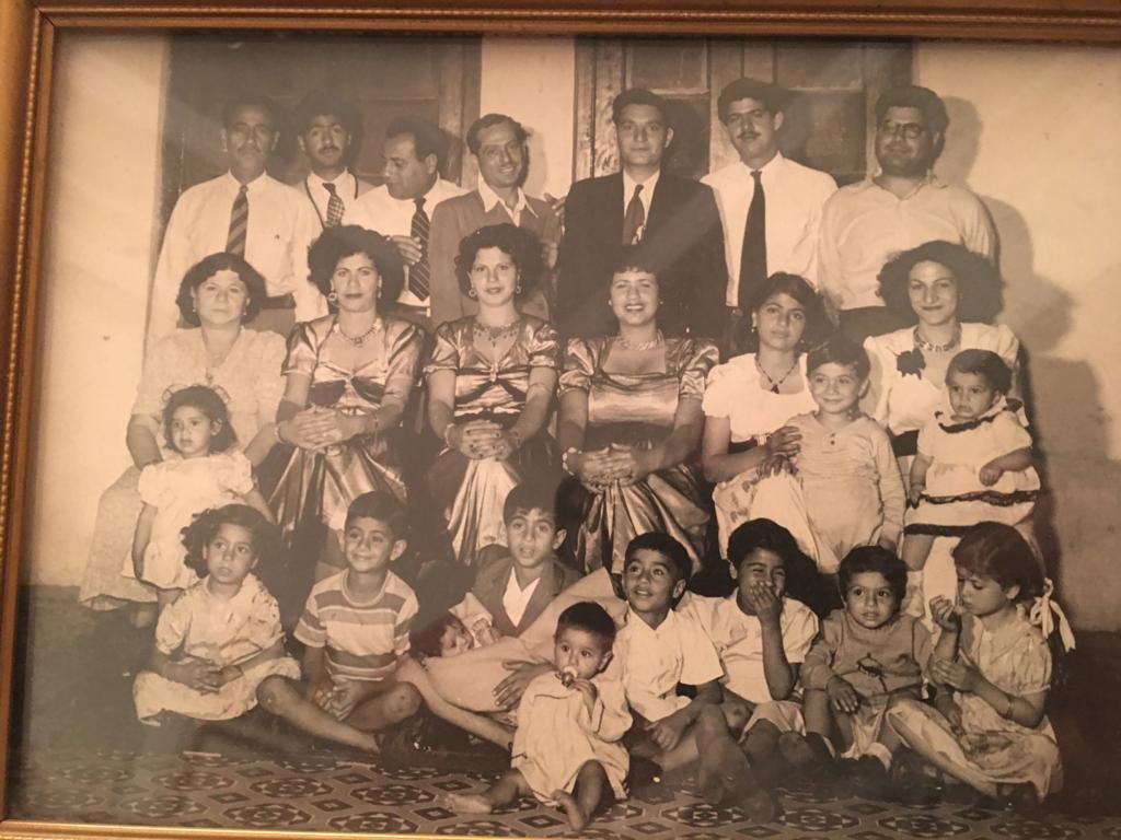Bahraini Jewish family