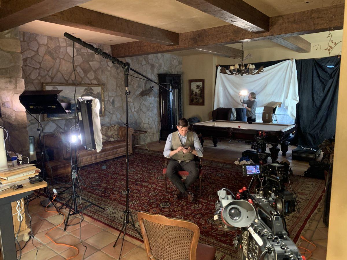 Jewish filmaker behind the scenes