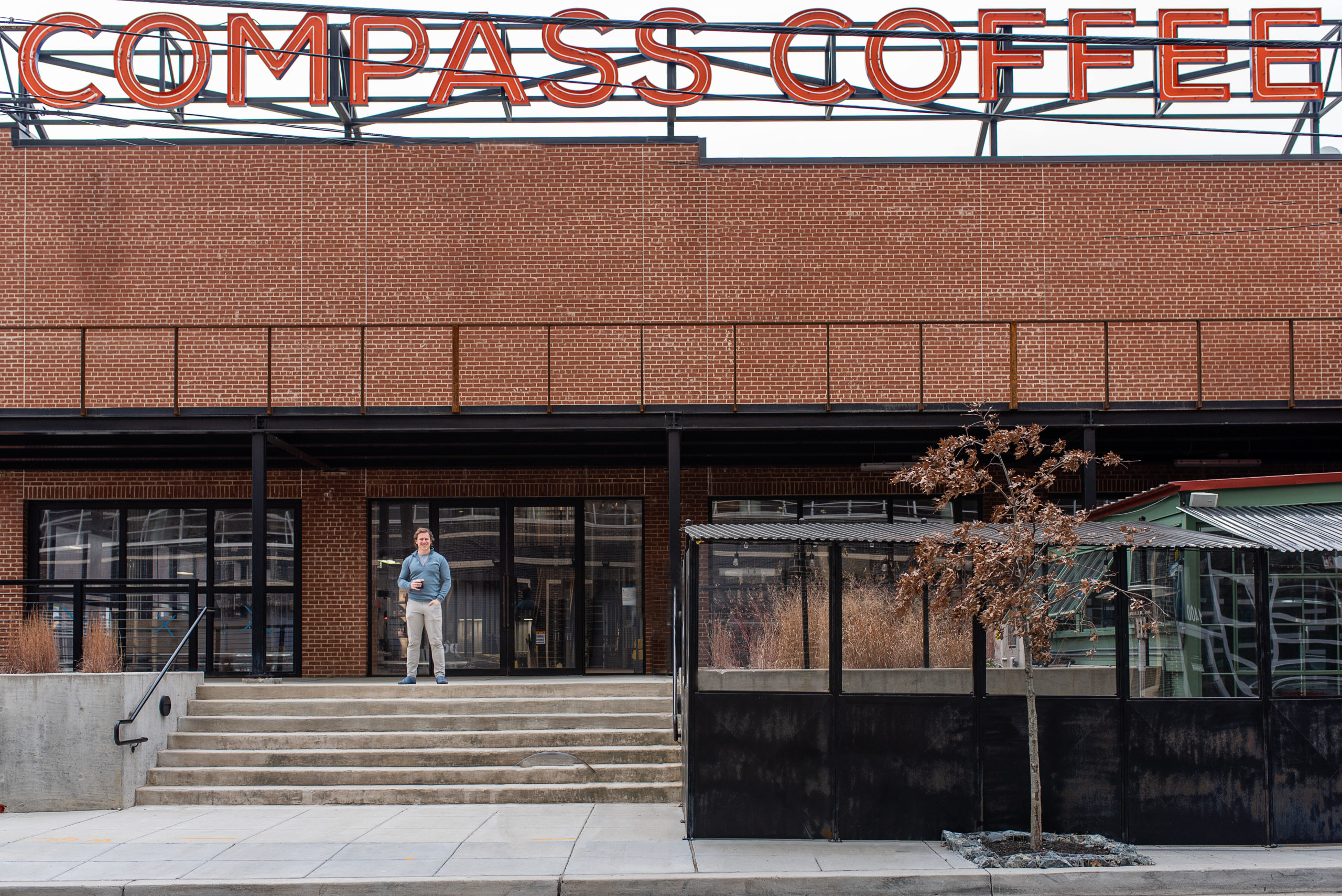 Michael Haft at Compass Coffee