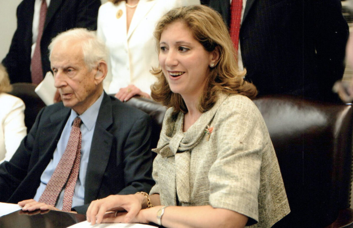 Diana Florence and Robert Morgenthau