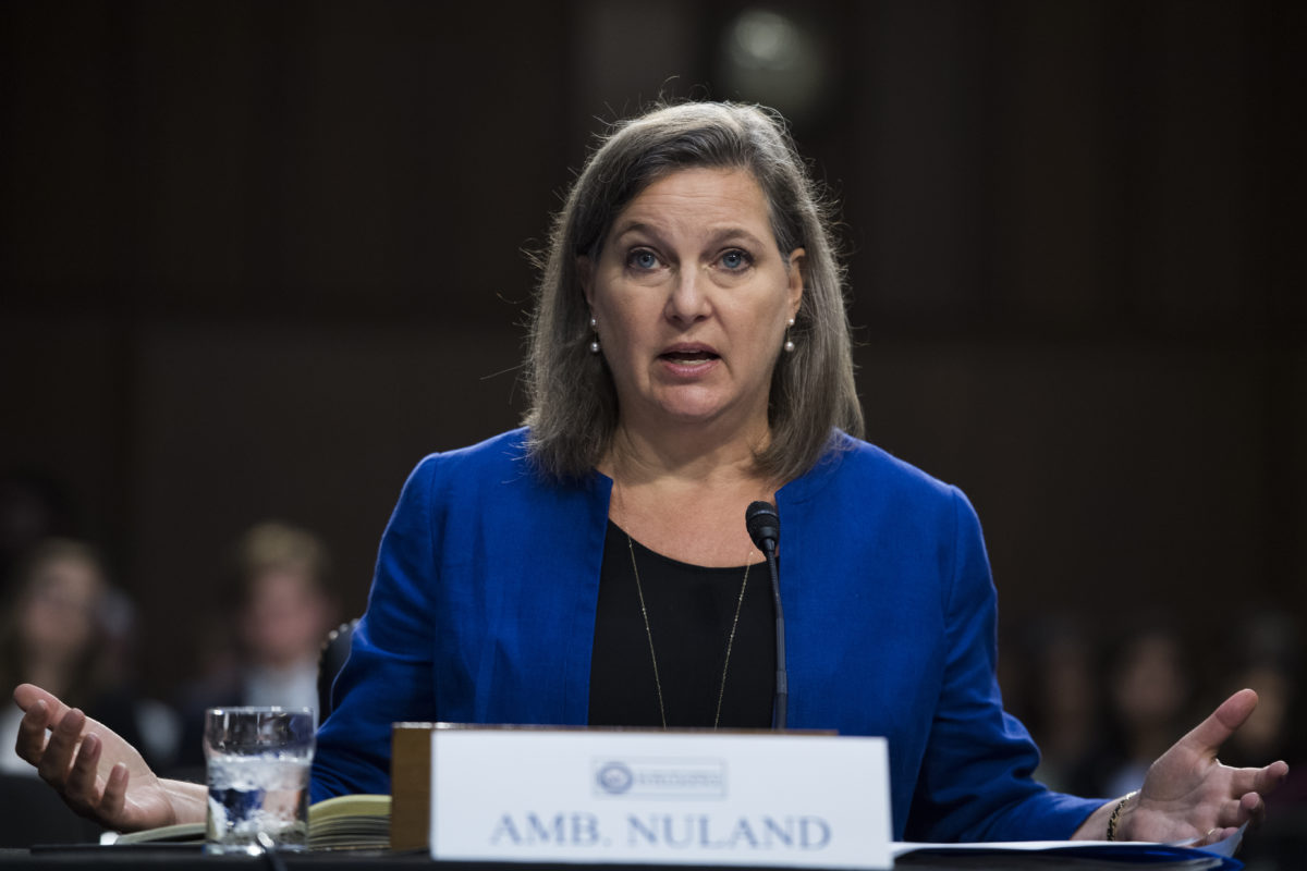 Nuland: Administration should address non-nuclear issues 'in tandem' with JCPOA talks