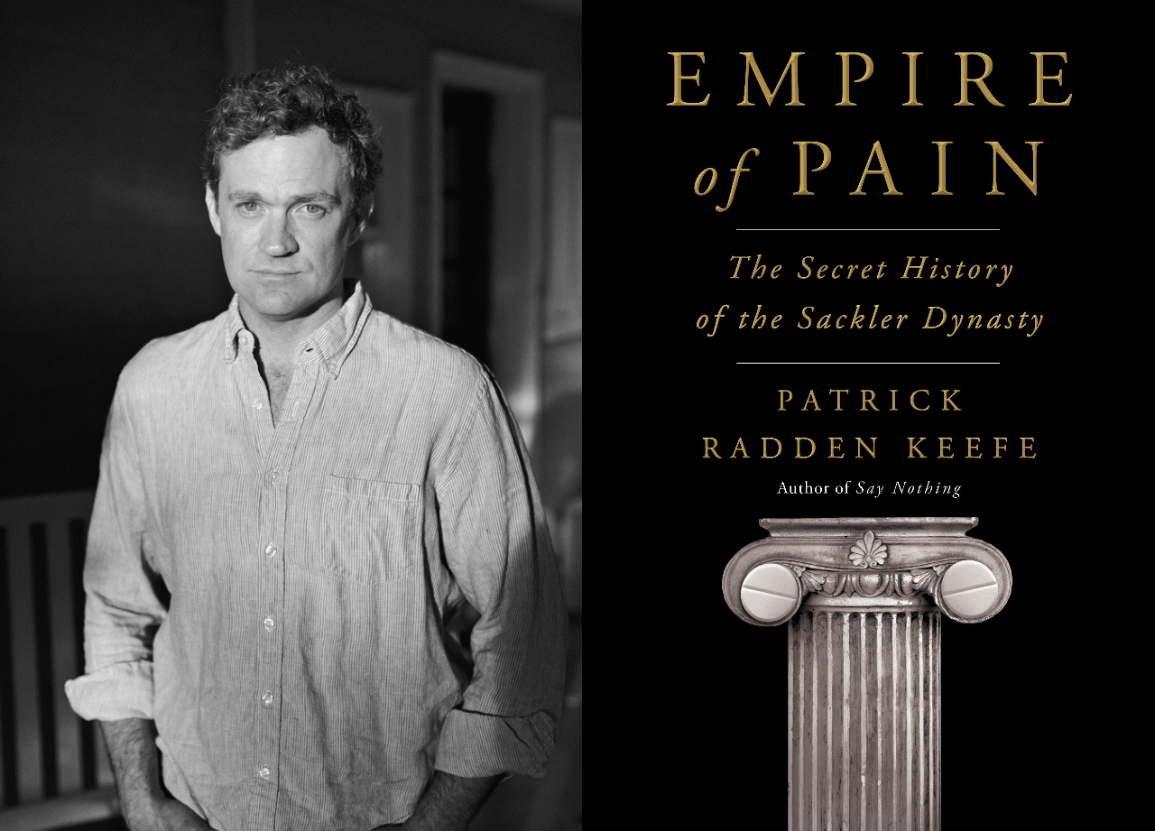 Daily Kickoff: Patrick Radden Keefe on his new book on the Sackler dynasty + The Israeli startup seeking to monetize Clubhouse