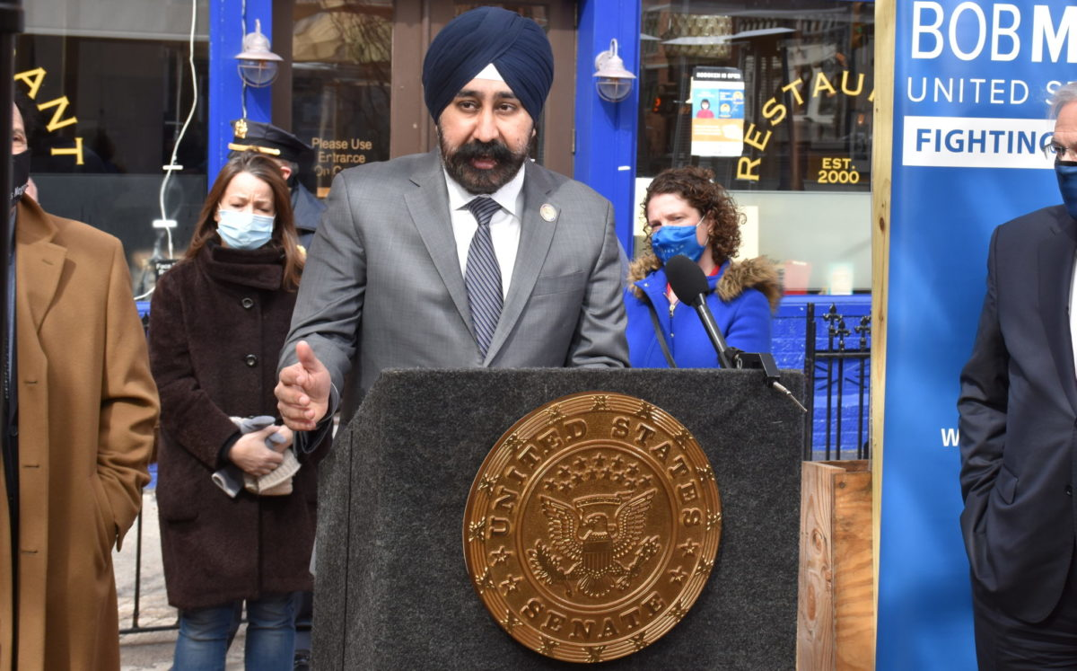 Hoboken's first Sikh mayor is on the front lines of fighting antisemitism